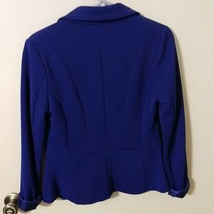 Swoon Boutique Jackets & Coats - Women's Swoon boutique royal blue blazer
